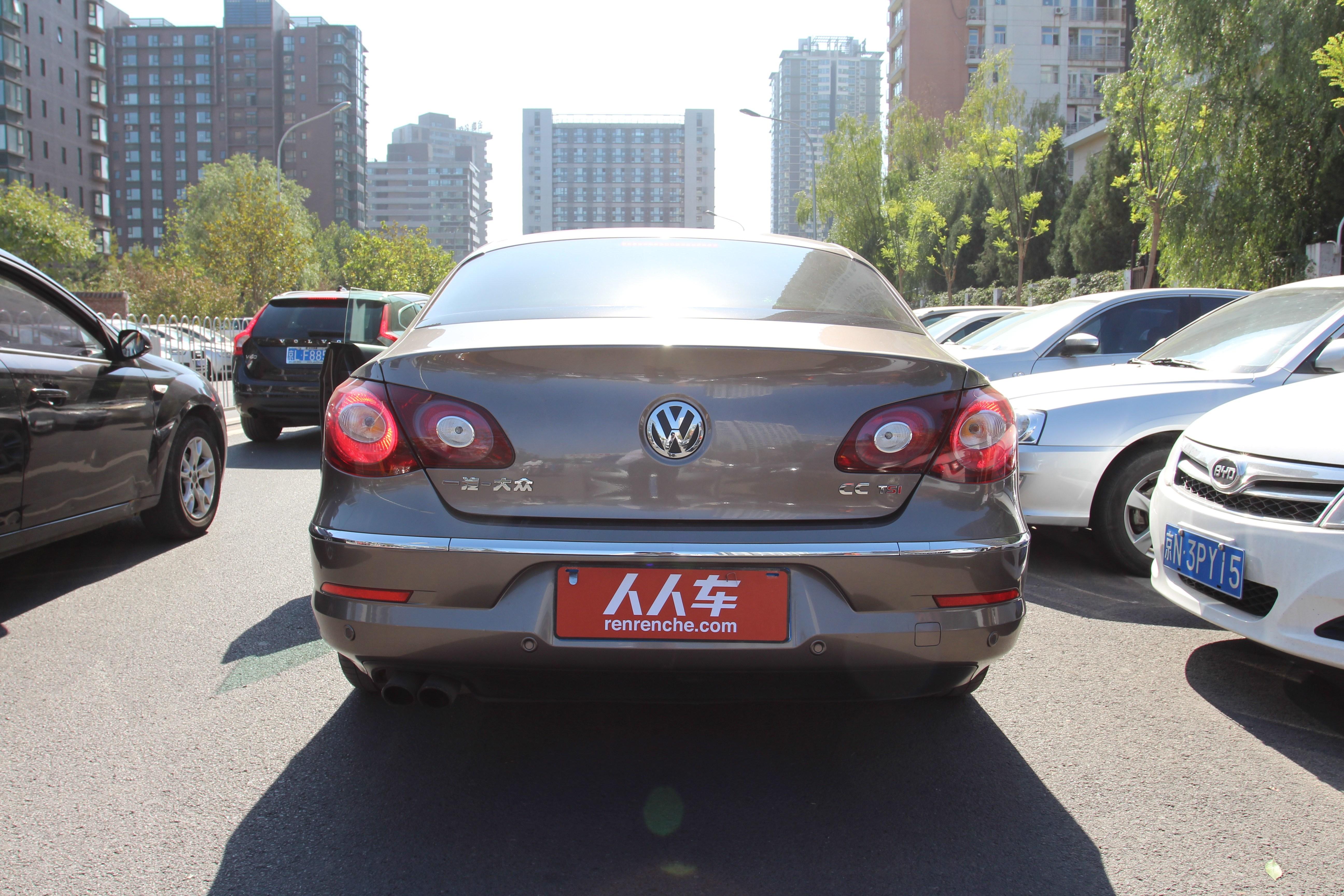 北京二手大众-cc 2012款 1.8tsi 豪华型_最新报价及